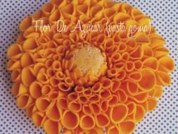 Como hacer Flores de Azúcar con Pasta Goma, de forma fácil y divertida