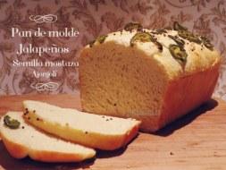 Cómo hacer Pan de Molde con Semillas de Mostaza, Jalapeños y Ajonjolí