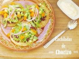 Enchiladas de Chorizo o Enchiladas del Suelo: Receta original