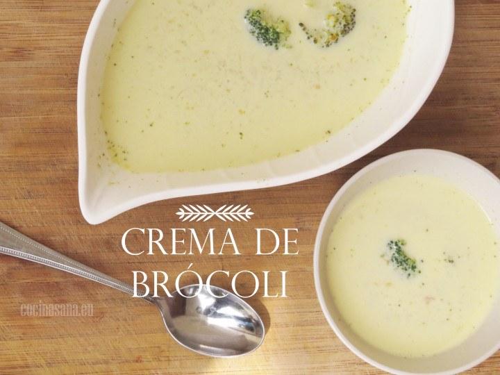 Crema de Brocoli