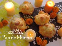 Tradicional Pan de Muerto de México