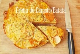 Gratin de Camote (Batata) con Romero, sencillo y delicioso