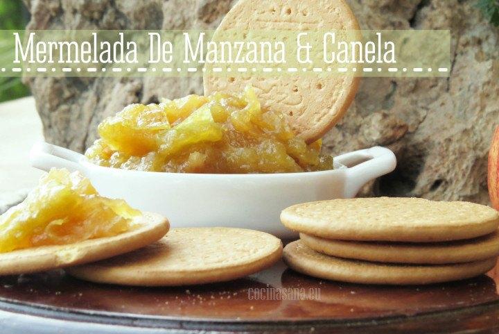 Mermelada casera de Manzana y Canela