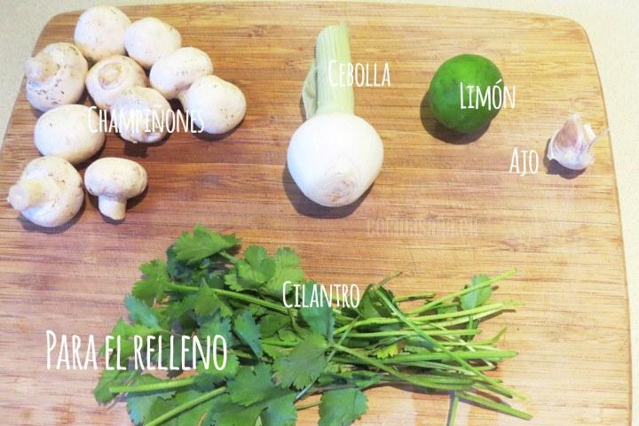 Ingredientes para el Relleno