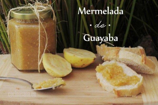 Mermelada de Guayaba casera