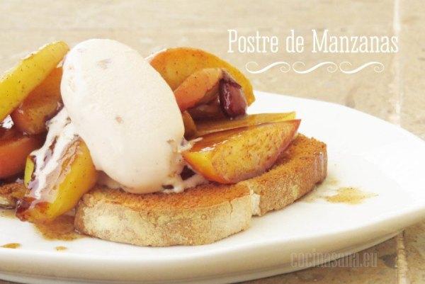 Postre de Manzana y Canela