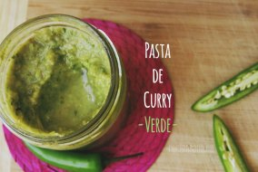 Pasta de Curry Verde casera: cómo prepararla en casa