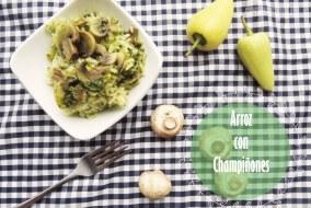 Arroz con champiñones y chile amarillo: Receta vegetariana