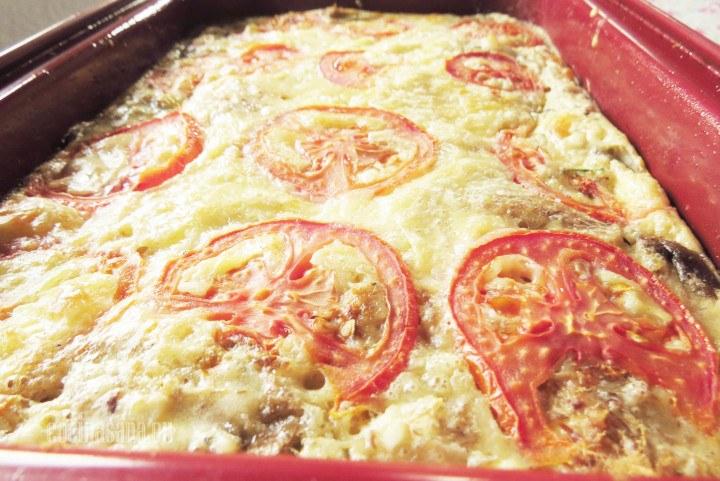 Pan con Verduras y machaca con tomate, queso una receta muy sencilla y perfecta para preparar en casa.