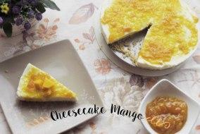 Cómo hacer un Cheesecake sin horno: Receta de Cheesecake de Mango