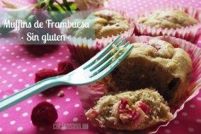 Muffins Sin Gluten de Frambuesa y Plátano: Receta apta para Celíacos