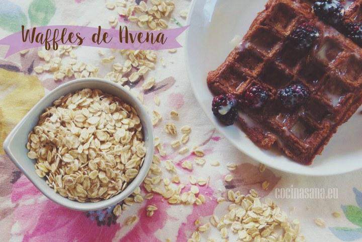 Waffles de Avena