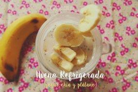 Avena Refrigerada con Leche y Yogur Griego