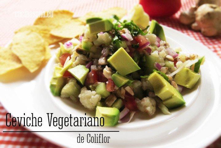 Ceviche vegetarian