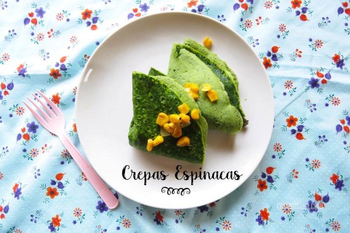 Crepas Espinacas