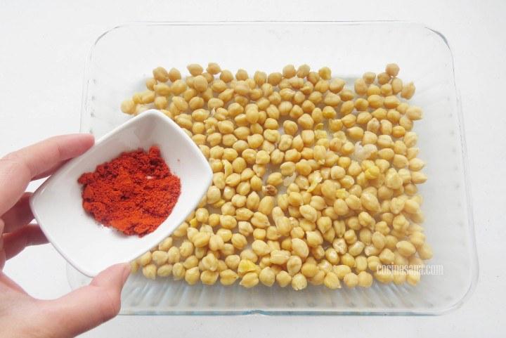 Añadir la paprika