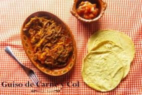 Guiso de Carne con Col: Receta Típica Mexicana Fácil de hacer