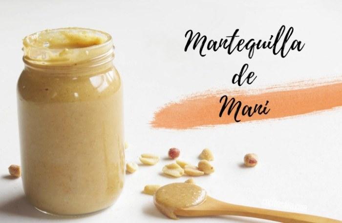 Mantequilla de Maní o Crema de Cacahuate