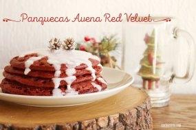 Panquecas o Hot Cakes de Avena Sabor Red Velvet: Receta completa