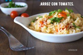 Arroz con Tomate Cherry: Guarnición Sencilla y Deliciosa