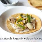 tostadas de requeson