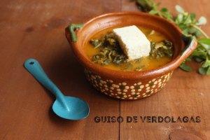 Guiso de Verdolagas: Receta Tradicional de México