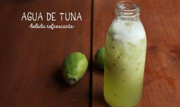 agua de tuna receta