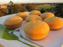Muffins (panquecitos) de Elote (Maíz)