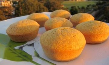 Muffins de elote