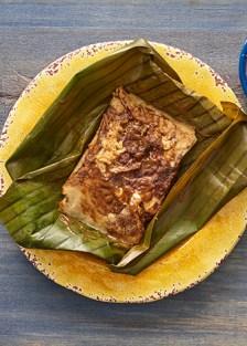 tamales de mole poblano
