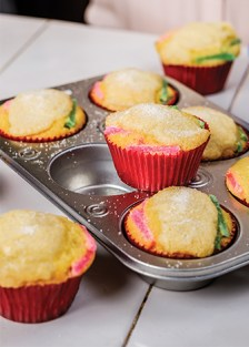 receta de cupcakes de rosca de reyes en cupcakes