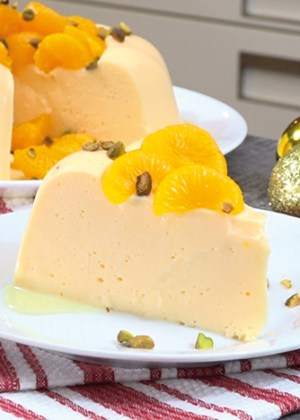 receta de gelatina de mandarina