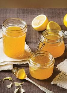 gelatina con miel de abeja