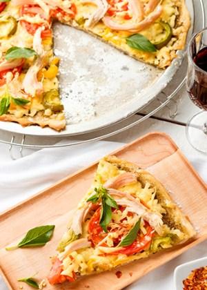 pizza de pavo