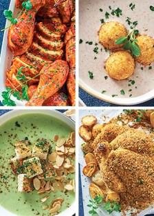 recetas para la cena de Año Nuevo