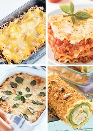 recetas de lasaña o lasagna