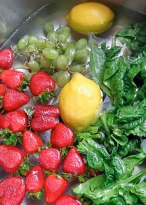 desinfectantes naturales para frutas y verduras