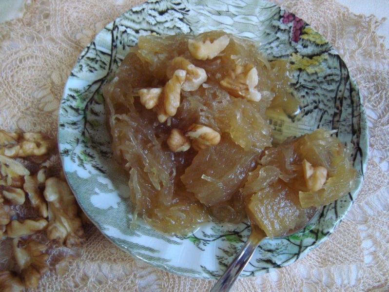 Dulce de alcayota de Chile