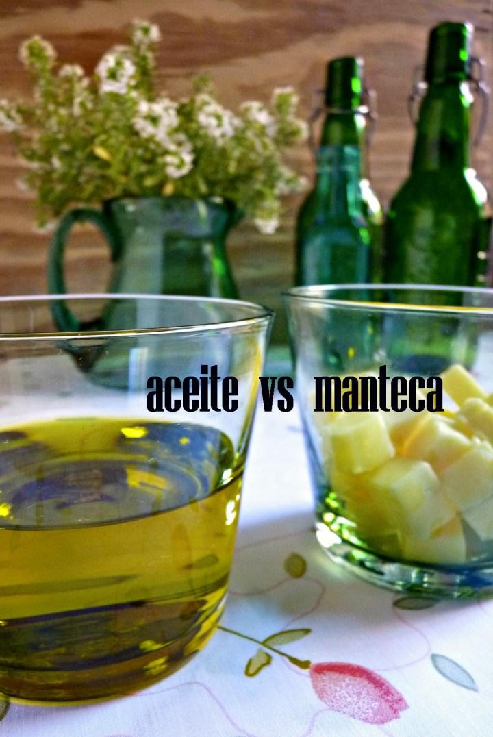 ACEITE VS MANTECAr