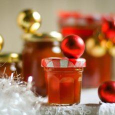 Mermelada de cerveza, con manzanas, naranja y jengibre fresco. Regalos de Navidad!
