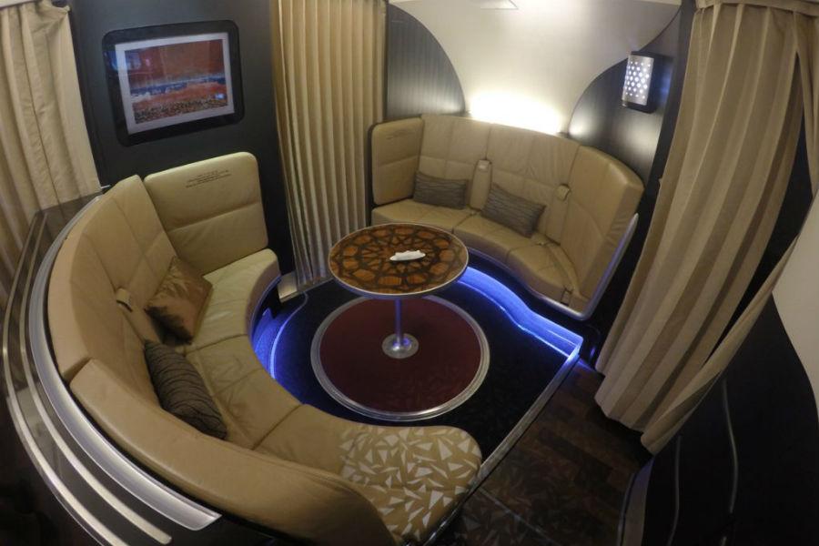 Excéntricos bares a bordo de un avión