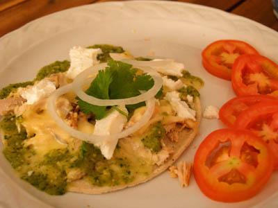 Enchiladas verdes © cocineraloca.fr