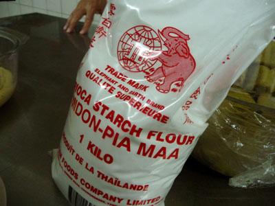 farine de tapioca ©cocineraloca.fr