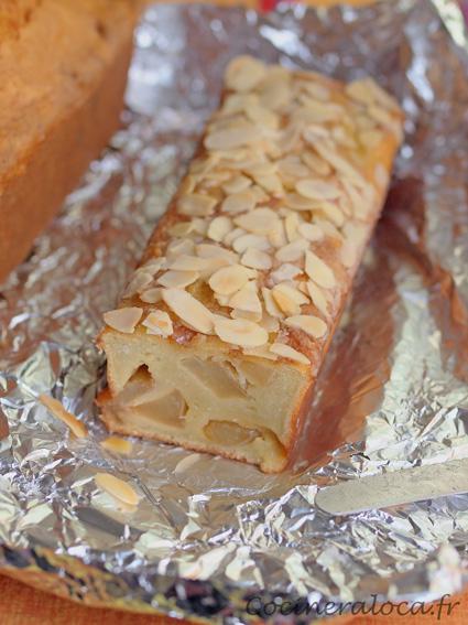 gâteau au cidre et aux pommes