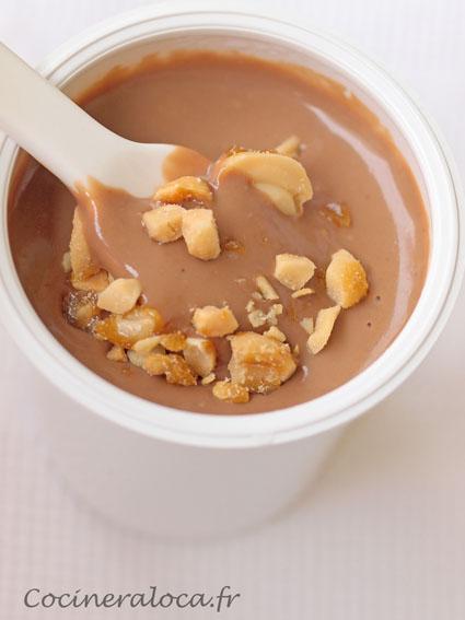 Petites Cremes Au Chocolat Au Lait Et Aux Cacahuetes La Cocinera Loca