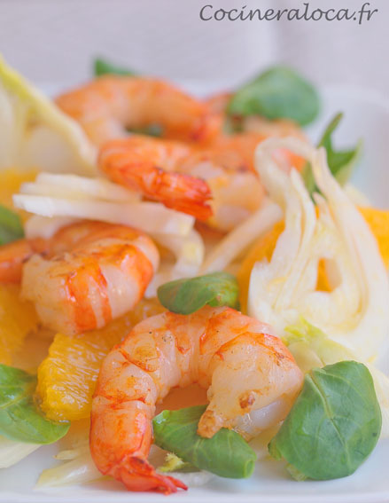 crevettes à l'huile d'orange Iber y Co ©cocineraloca.fr