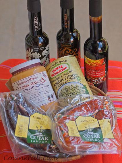 Produits alimentaires Iber y Co ©cocineraloca.fr