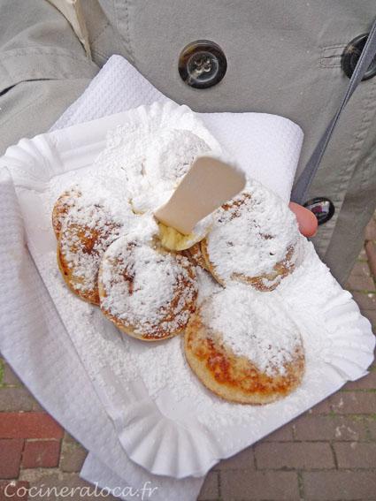 poffertjes prêts à être mangés ©cocineraloca.fr