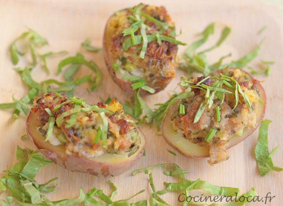 Pommes de terre aux rillettes et à l'oseille 2 ©cocineraloca.fr