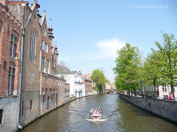 Bruges canal  ©cocineraloca.fr